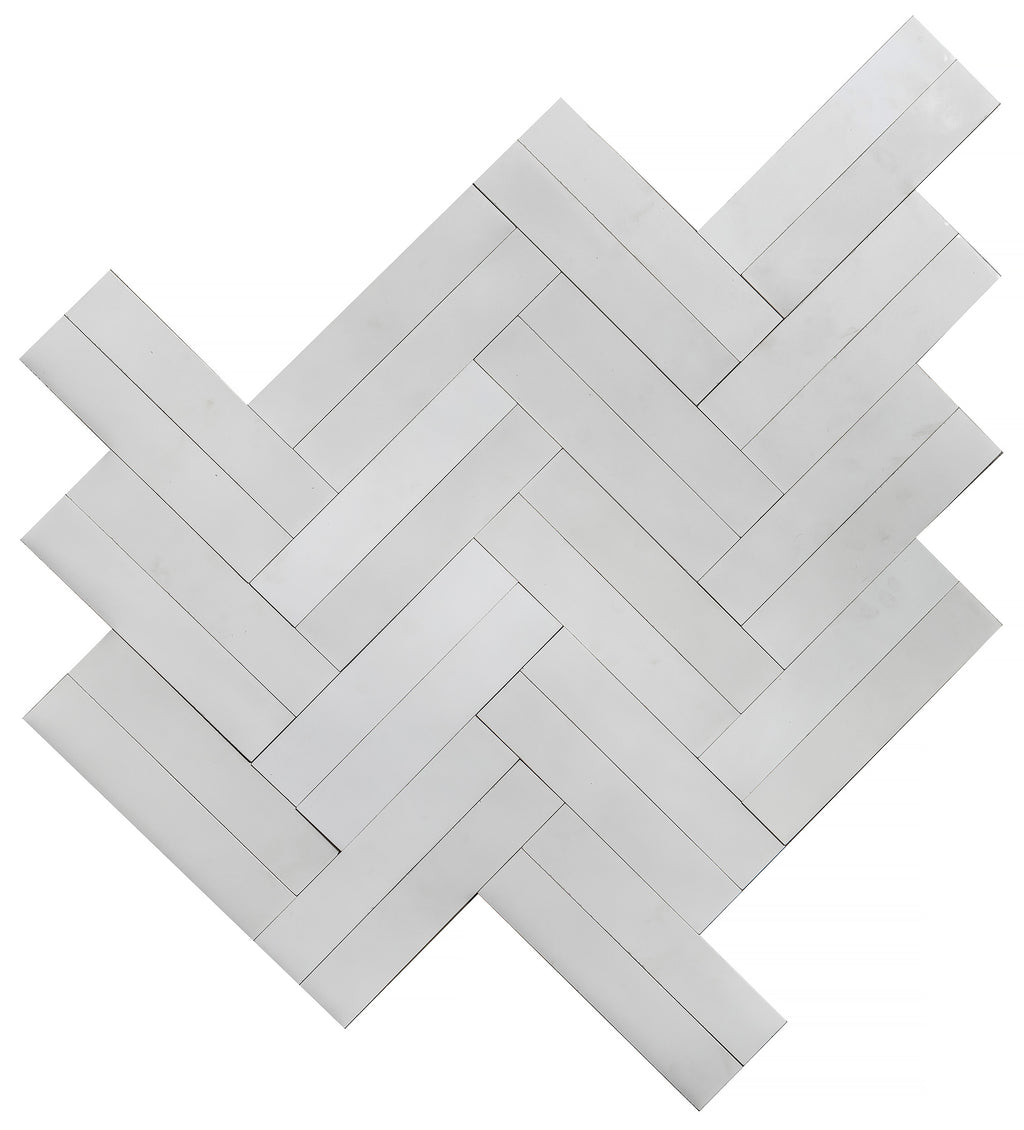 Twigs Cement Tiles - Ivory