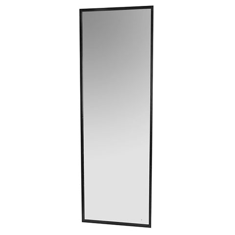 Tall mirror - freestanding or wall mounted in black antiqued iron