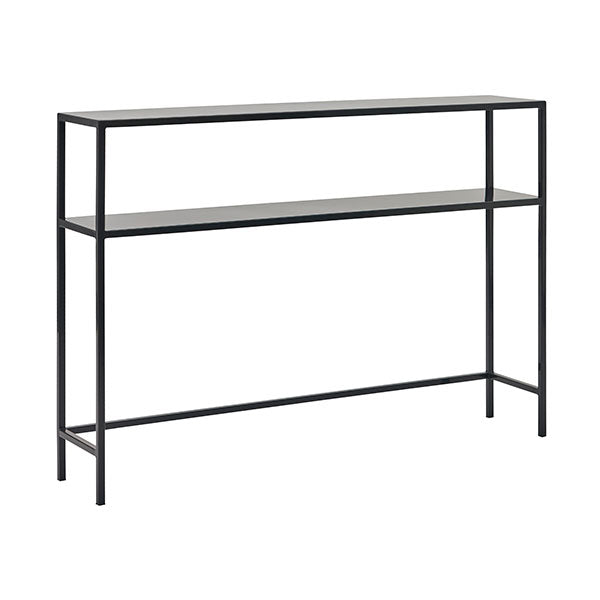 Frieda - Modern Black Console Table