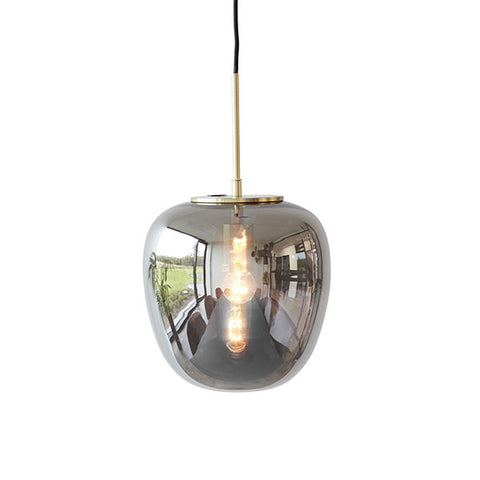 Aurelia Grey Glass Pendant Light