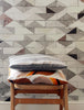 Going Overground - tile effect wallpaper