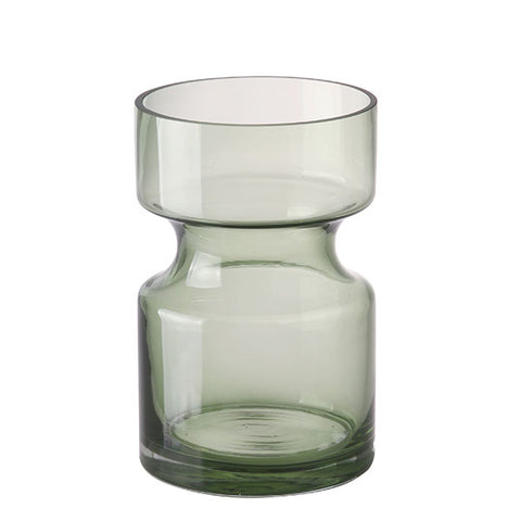 Monty Vase - Green Glass