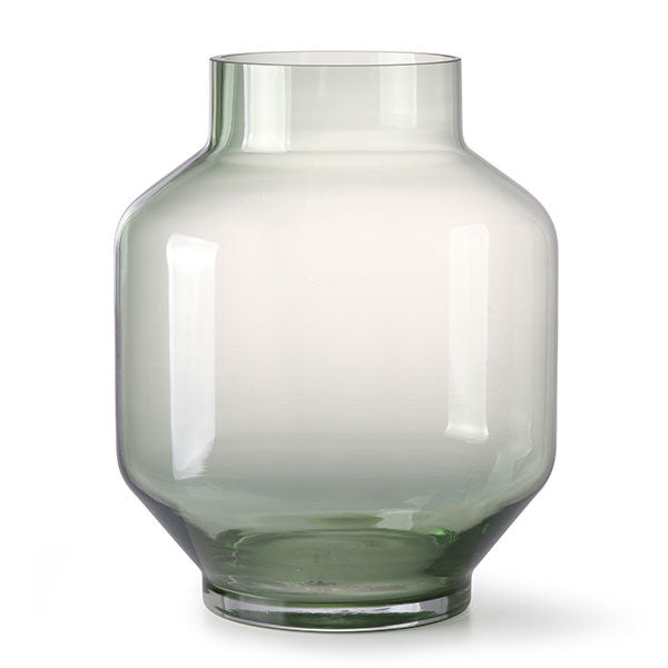 Monica Vase - Green Glass