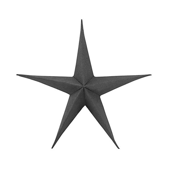 Decorative Paper Star - Black (set of 2 x 25cm)