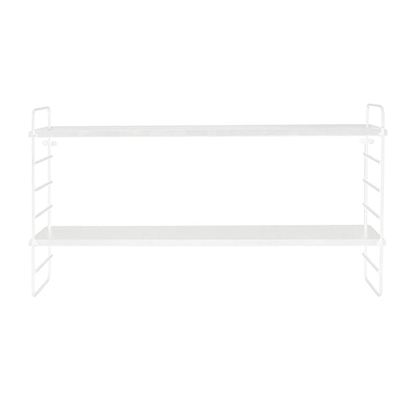 Double Shelf in White