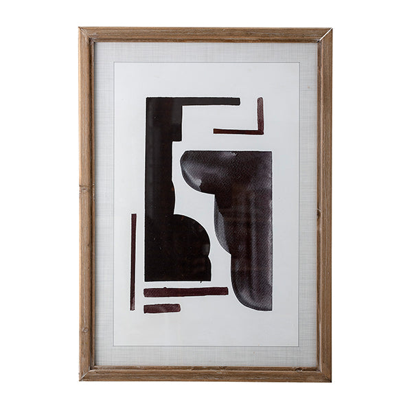 Bastille - Abstract Art Print Complete with Frame