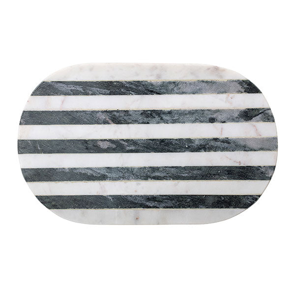 Luxe Monochrome Marble Cutting Board