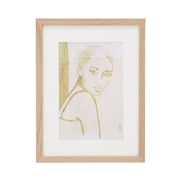 Stella Art Print - Complete with Mount + Frame