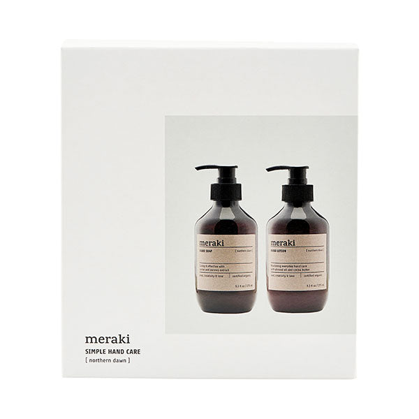 Northern Dawn - Luxury Hand Cleansing + Moisturising Set (Gift Boxed)