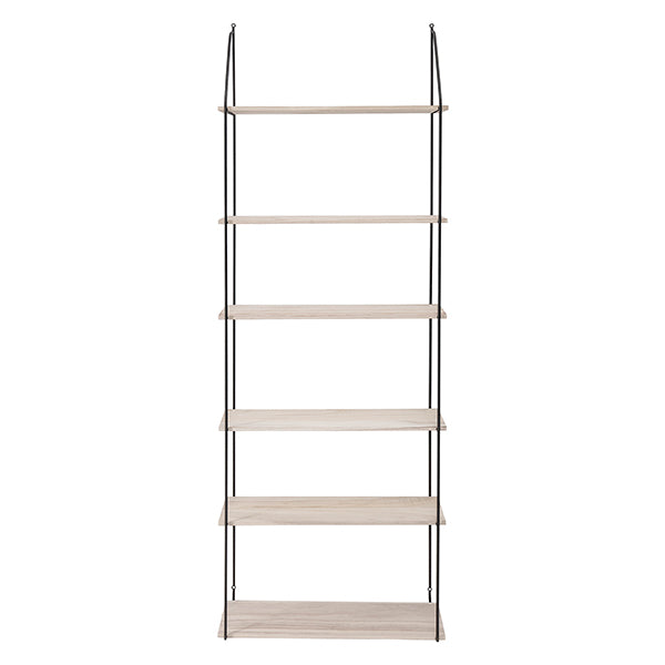 Vardo - Wall Mounted Shelving Unit with 6 shelves