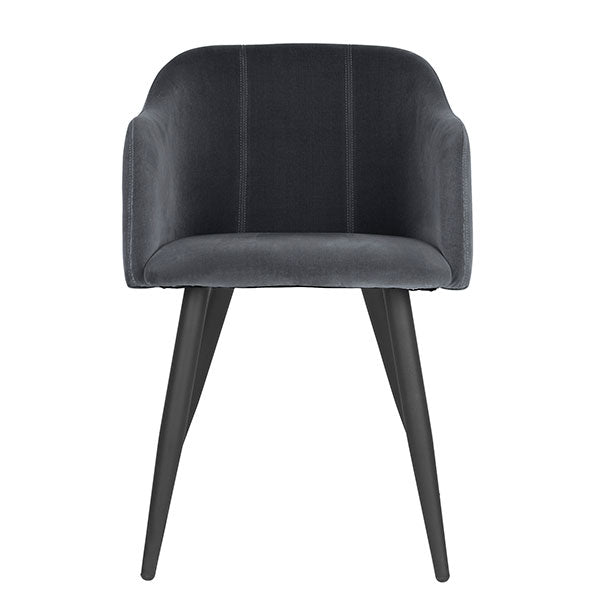 Club Dining Chair in Magnet Grey