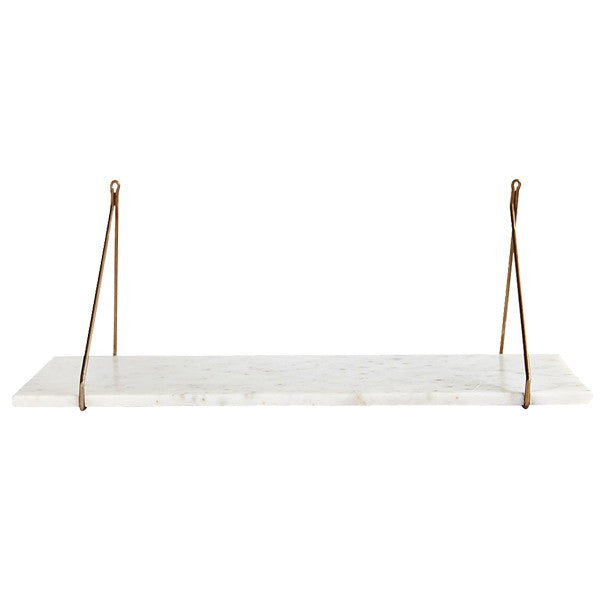 Mila Shelf - White Marble