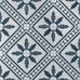 Palmblad Cement Tiles - Navy and White