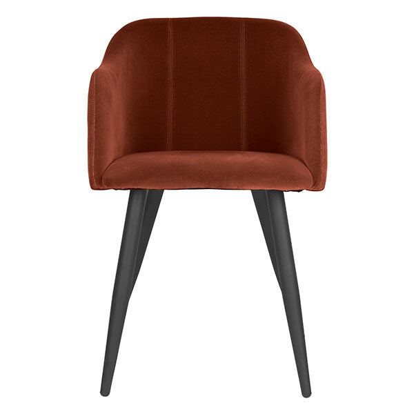 Club Dining Chair in Rich Rust