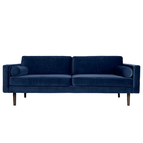 Velvet Sofa in Royal Blue