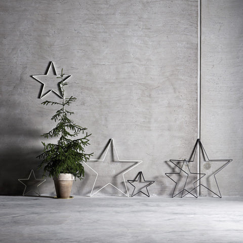White Iron Star (35cm)