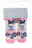 Beautifully packaged ballerina with a lace tutu socks for girls