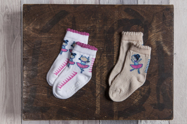 Ballerina girls' socks