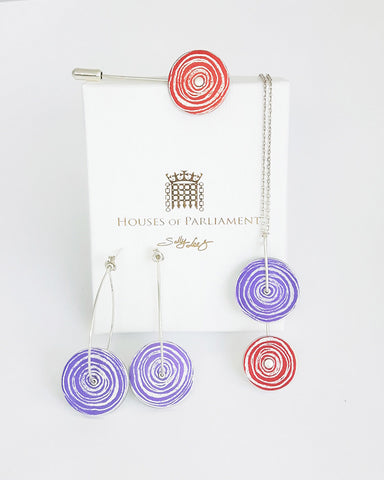 Sally Lees Houses of Parliament packaging