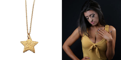 Star pendant and model