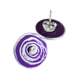 'New Dawn' Suffragette stud earrings