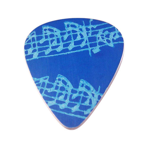 Guitar Pick - Blue Notes