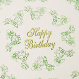 Birth Flower Birthday Card - March's Daffodil