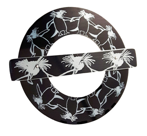 TFL Rocky the Rock Hopper Brooch