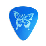 Guitar Pick - Blue Butterfly