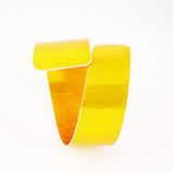 Contemporary Yellow aluminum Curl Cuff