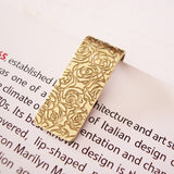 Brass Roses Bookmark