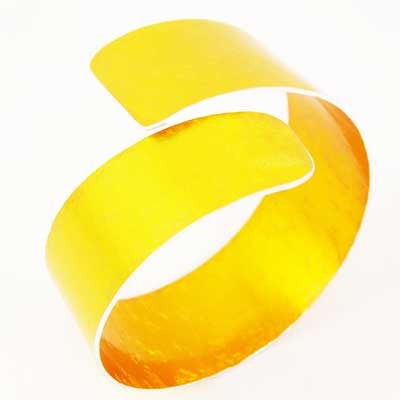 Yellow Curl Cuff