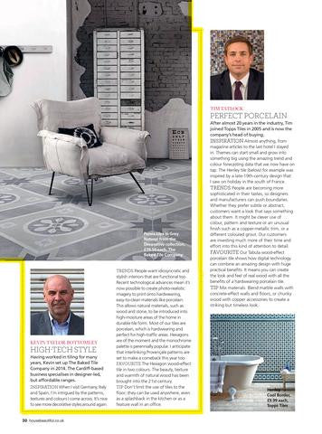 Press Alert: Brand Director talks tiles to House Beautiful Magazine