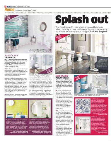 Press Alert:Baked Tile Co make a splash in the Metro