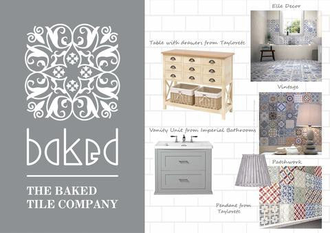Create the look with Baked Tile Co: Country Style