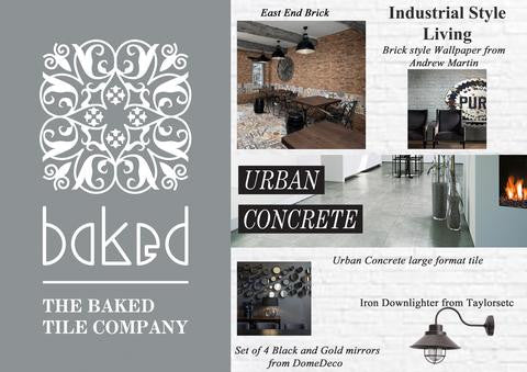 Create the look with Baked Tile Co: Industrial Style