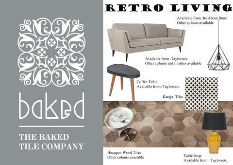 Create the look with Baked Tile Co: Retro Style