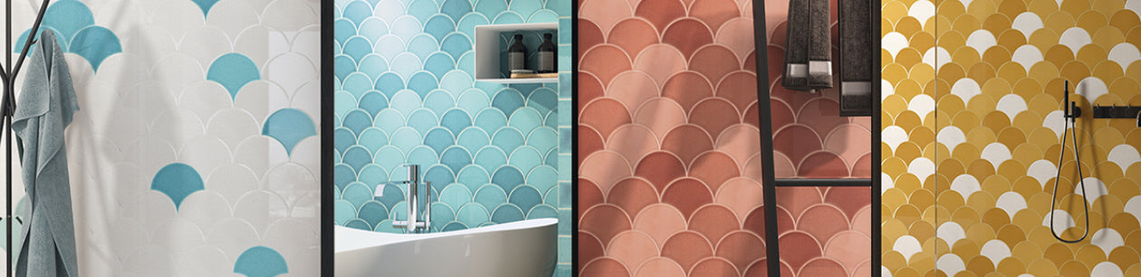 Baked Tiles Fan Collection