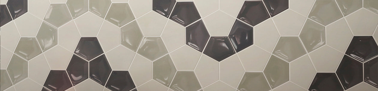 Baked Tiles Honeycomb Collection