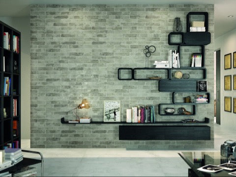 Feature Brick Wall for Urban tile styling