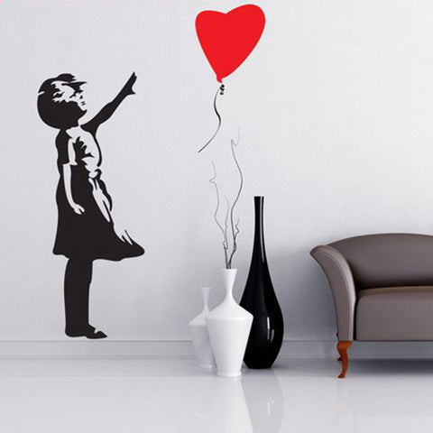 Banksy Style Decal
