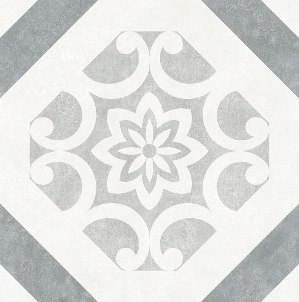 Close Up of Pattern Tile Design