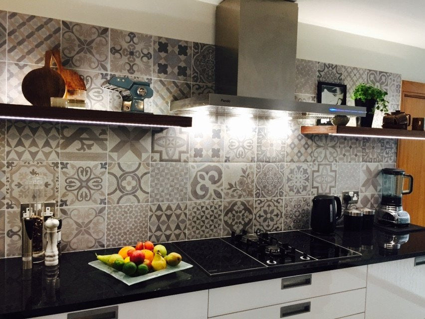 Customer Photo of Elle Decor kitchen splashback tiles