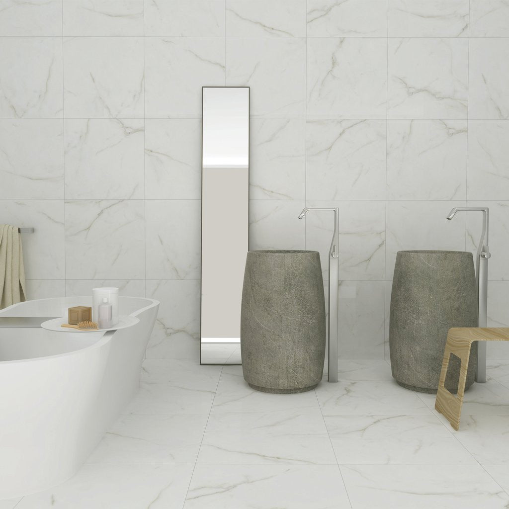 Essence stone effect bathroom tiles