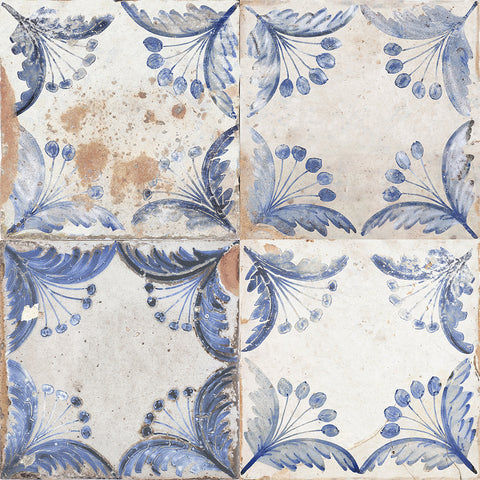 Faded Delft Pattern