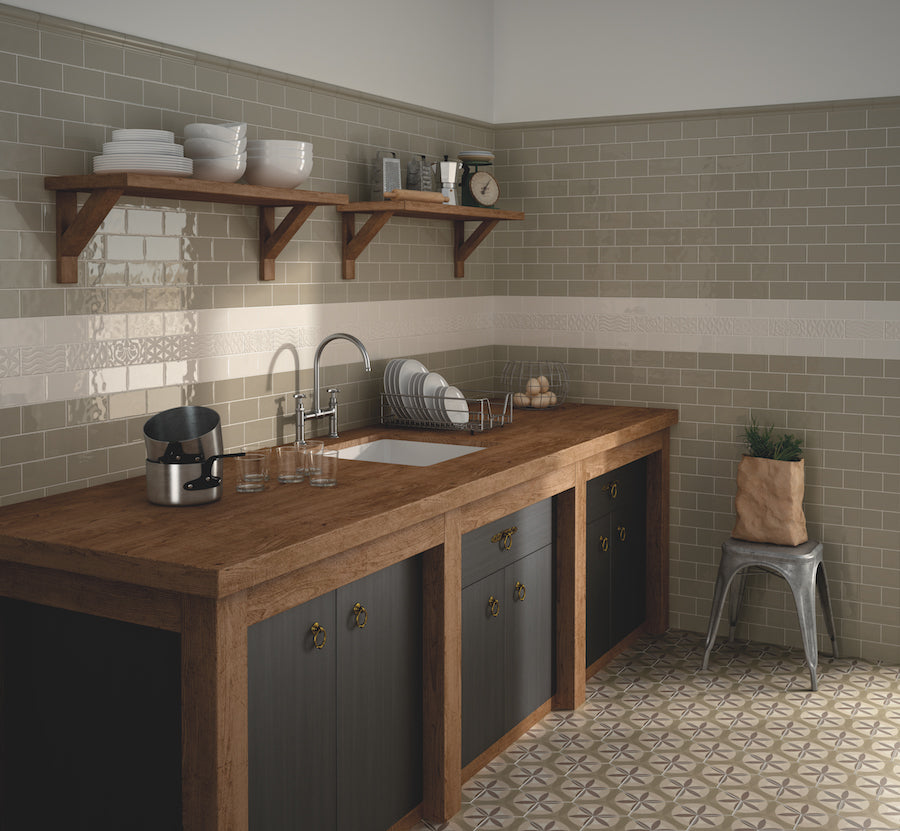 Funky Traditional Brick Effect Tiles