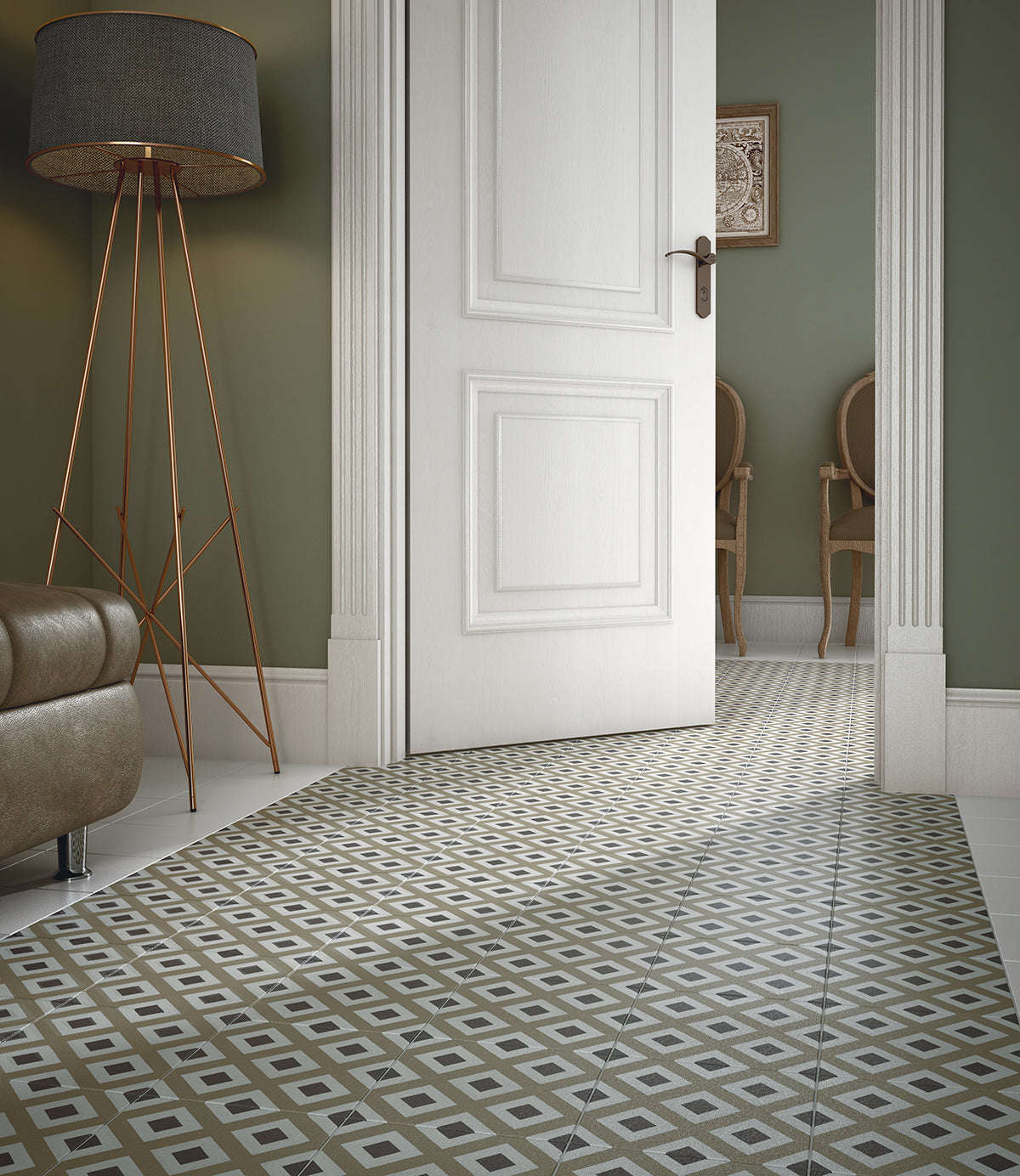 London Funk Statement Tiles