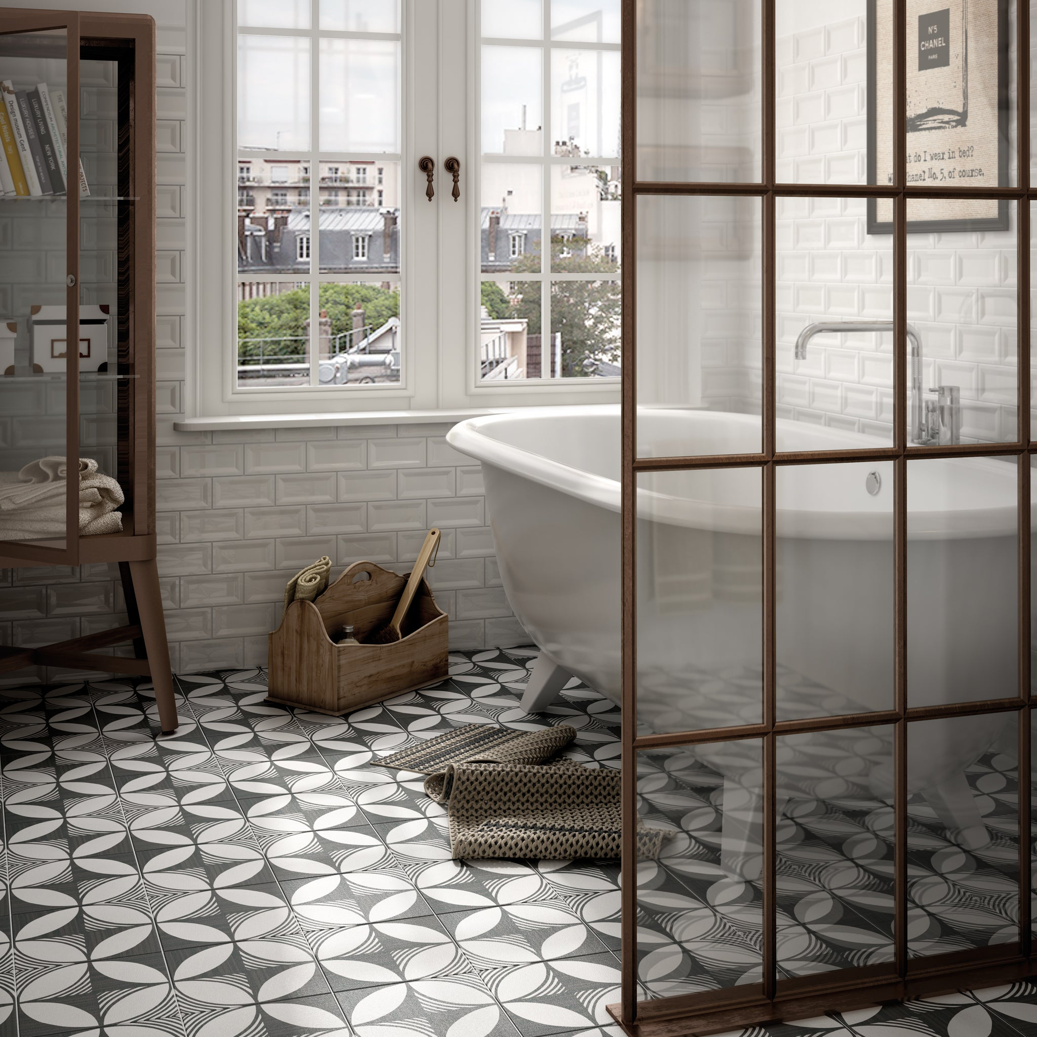 Baked Tiles London Collection Traditional Floor Tiles