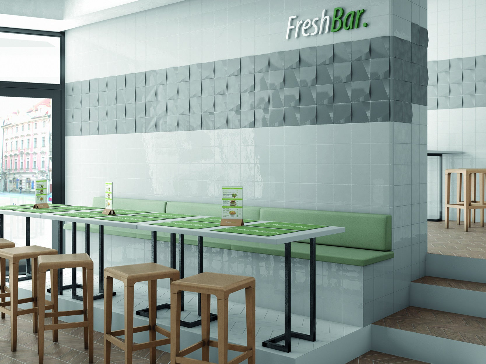 Creative & Modern Floor & Wall Tiles for Cafes, Bars & Restaurants ...