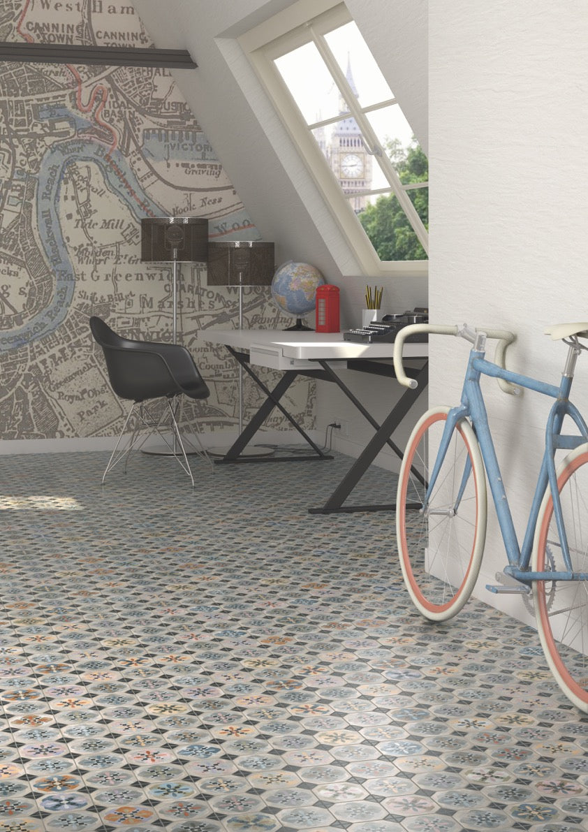 A guide to using decorative patterned wall floor tiles baked tiles traditional patterned floor tiles dailygadgetfo Image collections